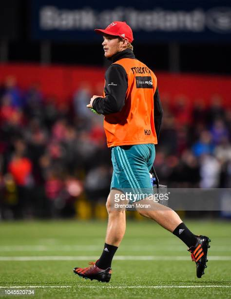 Cork Ireland 14 September 2018 Tyler Bleyendaal of Munster during the Guinness PRO14 Round 3 match between Munster and Ospreys at Irish Independent...