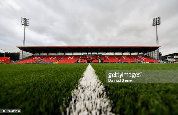 Cork , Ireland - 17 August 2018; A general view of Irish Independent Park prior to the Keary's Renault pre-season friendly match between Munster and...