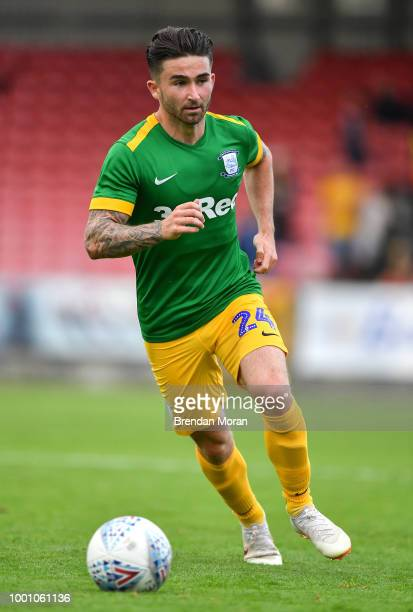 Cork Ireland 17 July 2018 Sean Maguire of Preston North End during the friendly match between Cobh Ramblers and Preston North End at Turners Cross in...