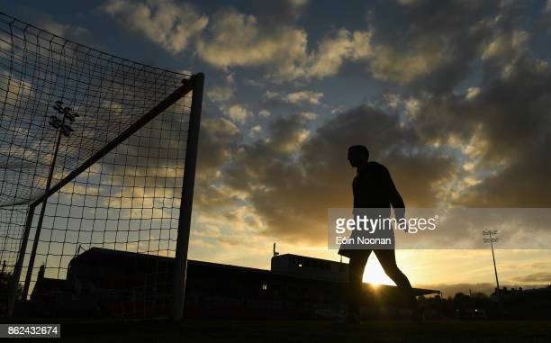 Cork Ireland 17 October 2017 Karl Sheppard of Cork City makes his way back to the dressing room ahead of the SSE Airtricity League Premier Division...