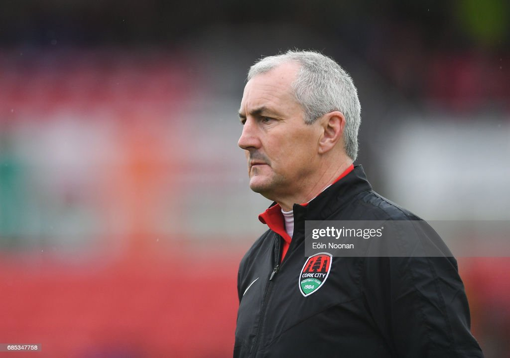 Cork , Ireland - 19 May 2017; Cork City manager John Caulfield during the SSE Airtricity League Premier Division game between Cork City and Drogheda United at Turners Cross in Cork.