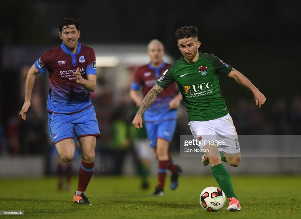 Cork , Ireland - 19 May 2017; Sean Maguire of Cork City during the SSE Airtricity League Premier Division game between Cork City and Drogheda United at Turners Cross in Cork.