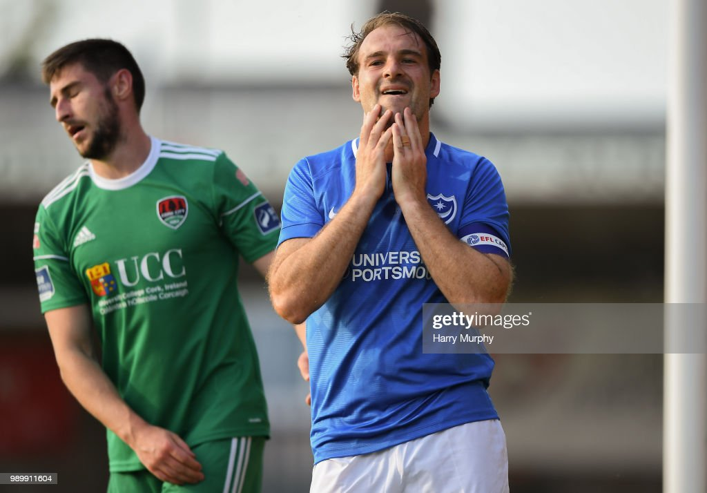 Cork City v Portsmouth - Friendly