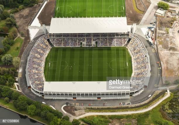 Cork Ireland 23 July 2017 An aerial view of Páirc Ui Chaoimh during the GAA Hurling AllIreland Senior Championship QuarterFinal match between Wexford...