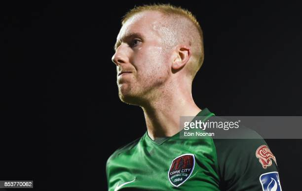 Cork , Ireland - 25 September 2017; A dejected Stephen Dooley of Cork City after the final whistle during the SSE Airtricity Premier Division match...
