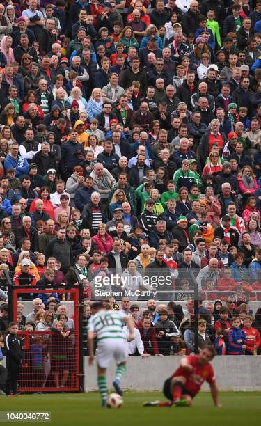 Cork Ireland 25 September 2018 Supporters watch on during the Liam Miller Memorial match between Manchester United Legends and Republic of Ireland...