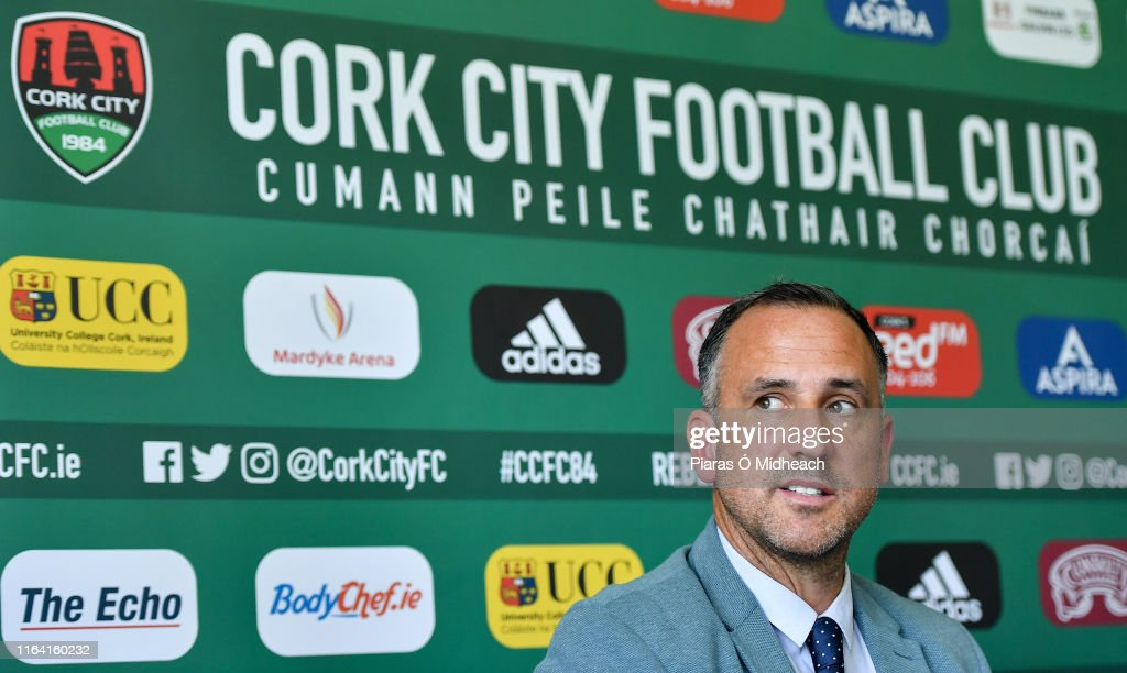 Cork City Unveil New Head Coach Neale Fenn : News Photo