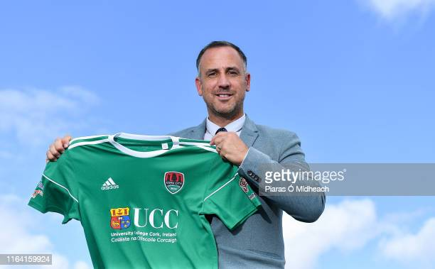 Cork , Ireland - 26 August 2019; Newly appointed Cork City Head Coach Neale Fenn poses for a portrait following a press conference at the Cork...