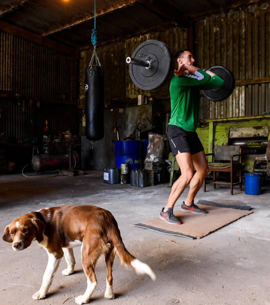 IRL: Irish Long Jump athlete Shane Howard