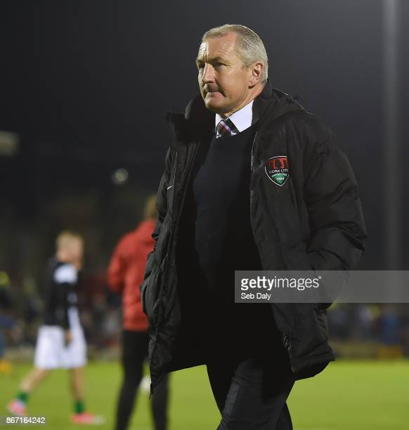 Cork , Ireland - 27 October 2017; Cork City manager John Caulfield prior to the SSE Airtricity League Premier Division match between Cork City and...