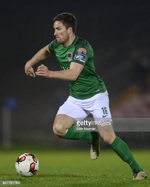 Cork Ireland 3 March 2017 Gearóid Morrissey of Cork City in action during the SSE Airtricity League Premier Division match between Cork City and...