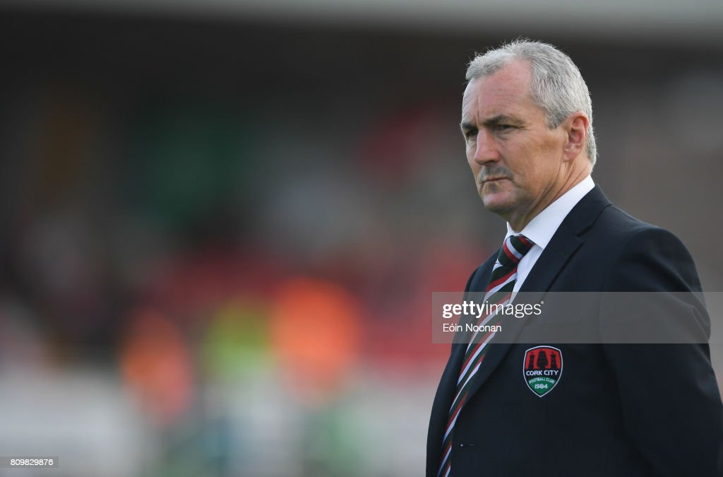 Cork , Ireland - 6 July 2017; Cork City manager John Caulfield ahead of the Europa League First Qualifying Round Second Leg match between Cork City and Levadia Tallinn at Turners Cross in Cork.