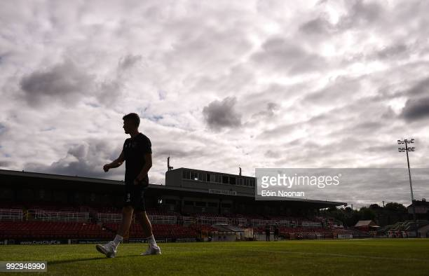 Cork Ireland 6 July 2018 Graham Cummins of Cork City makes his way back to the dressing room prior to the SSE Airtricity League Premier Division...