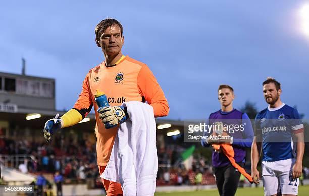 Cork , Ireland - 7 July 2016; Linfield goalkeeper Roy Carroll following the UEFA Europa League First Qualifying Round 2nd Leg between Cork City and...