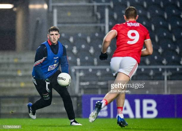 Cork , Ireland - 8 November 2020; Mark Keane of Cork prior to the Munster GAA Football Senior Championship Semi-Final match between Cork and Kerry at...