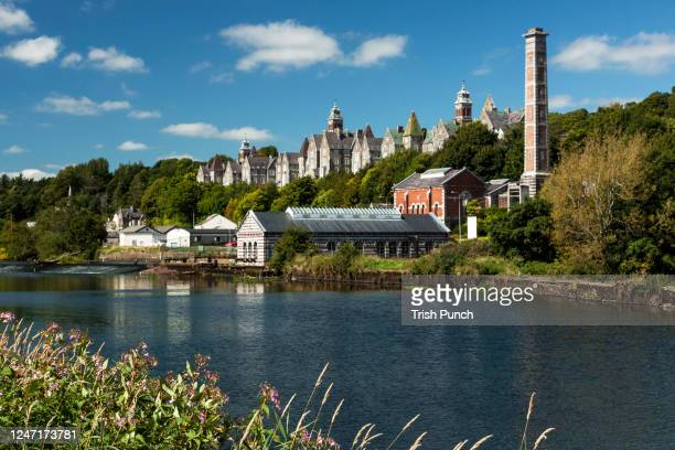 cork, ireland - views from the river lee walking trail in cork city. - cork city stock pictures, royalty-free photos & images