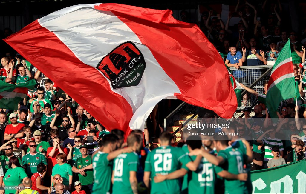 Cork City v Legia Warszawa - UEFA Champions League - First Qualifying Round - First Leg - Turners Cross : News Photo