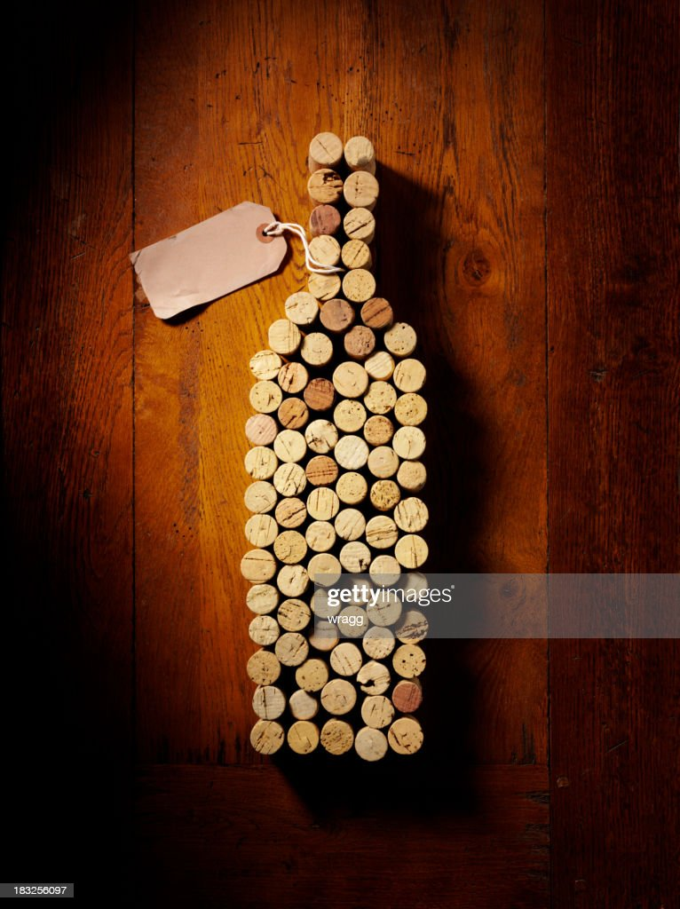 Cork Wine Bottle : Stock Photo