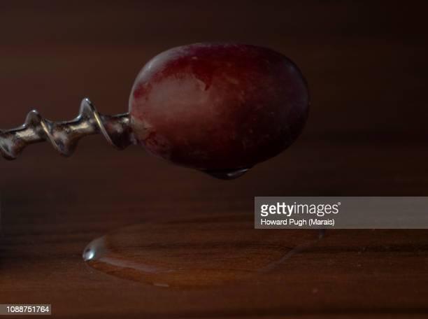 Corkscrew Skewered Grape