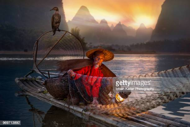 Cormorant Fisherman, Yangshuo, China