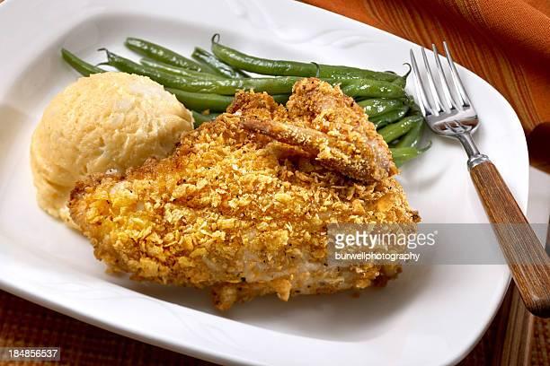 Corn Flake Crusted Chicken Breast