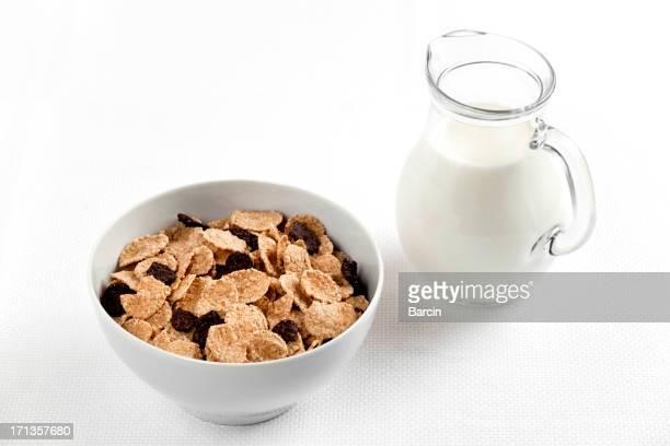 Corn flakes e latte
