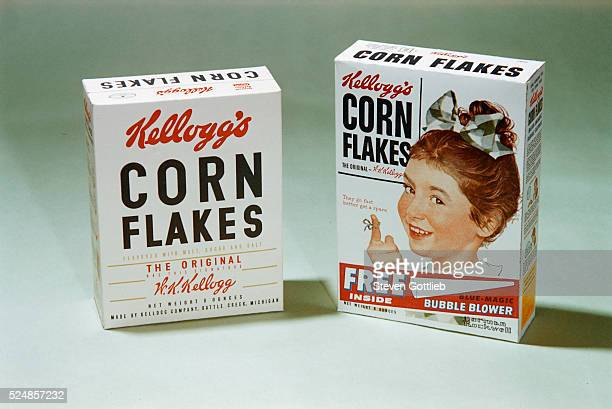 Corn Flakes Cereal Boxes