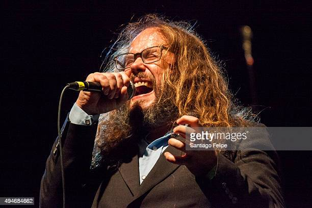Corn Mo performs onstage at Highline Ballroom on October 27 2015 in New York City