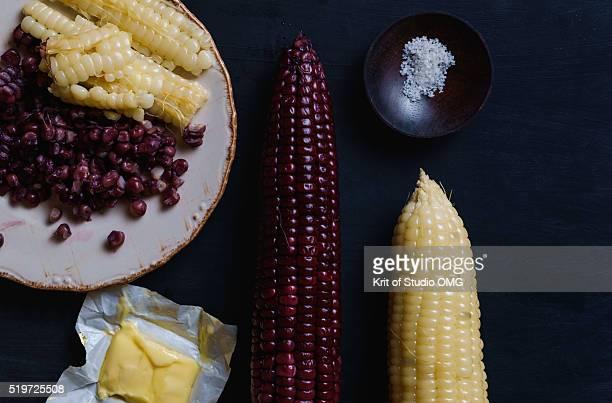 Corn whit mamarine
