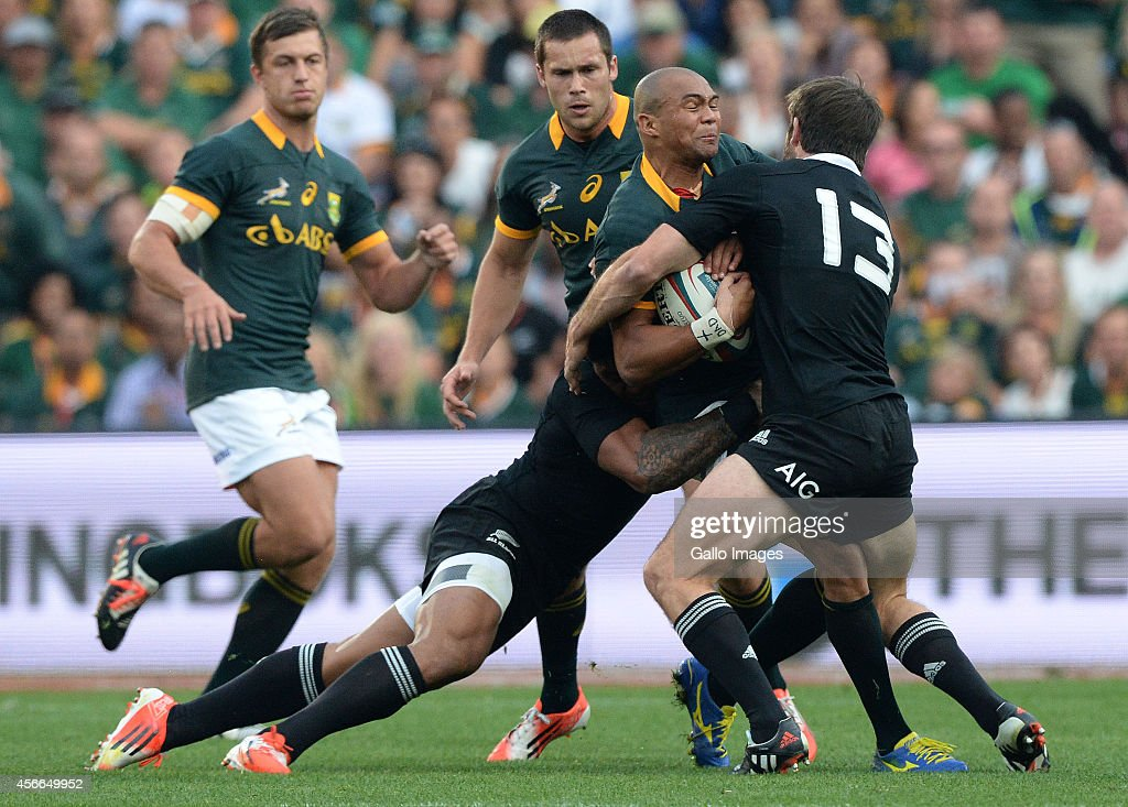 South Africa v New Zealand - The Rugby Championship : News Photo