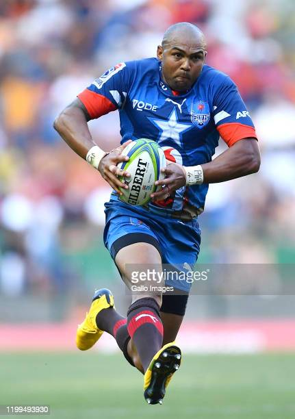 Cornal Hendricks of the Bulls during the Super Rugby match between DHL Stormers and Vodacom Bulls at DHL Newlands on February 08 2020 in Cape Town...