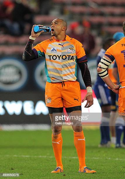 Cornal Hendricks of the Cheetahs during the Super Rugby match between DHL Stormers and Toyota Cheetahs at DHL Newlands on May 24 2014 in Cape Town...
