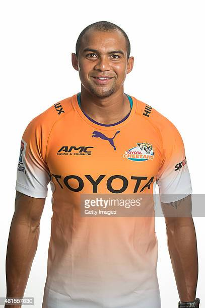 Cornal Hendricks of the Cheetahs poses during a Super Rugby headshots session on January 14 2015 in BloemfonteinSouth Africa