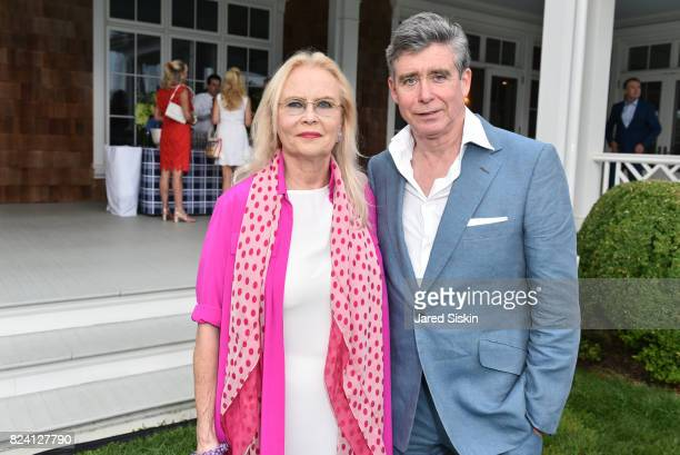 Cornelia Bregman and Jay McInerney attend the Alzheimer's Association Hosts Rita Hayworth Gala Hamptons Kickoff Event at a Private Residence on July...