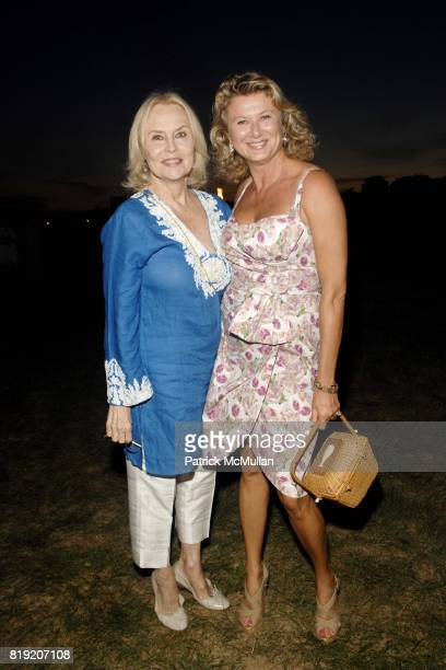 Cornelia Bregman and Lady Liliana Cavendish attend ACRIA's Annual Cocktails at Sunset Presented by Calvin Klein Collection Vanity Fair at Private...