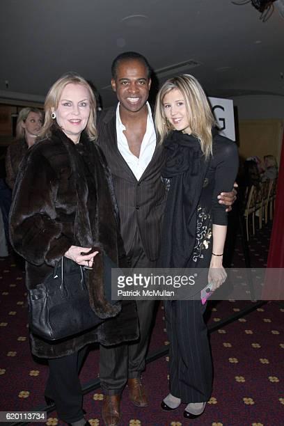 Cornelia Bregman Frederick Anderson and Marissa Bregman attend DOUGLAS HANNANT Fall 2008 Fashion Show at Hudson Theater at the Millenium Hotel on...
