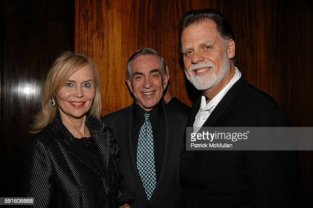 Cornelia Bregman Marty Bregman and Taylor Hackford attend The Irvington Institute for Immunological Research Through The Kitchen Benefit Dinner at...
