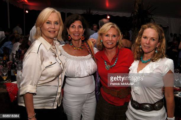 Cornelia Bregman, Pamela Fiori, Sharon Bush and Anne Hearst McInerney attend BEST BUDDIES Hamptons Gala at Home of Anne Hearst McInerney and Jay...