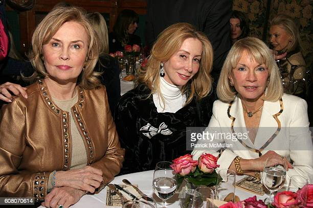 Cornelia Bregman Sharon Handler and Kristi Witker attend Ann Barish's Holiday Luncheon at La Grenouille on December 4 2006 in New York City