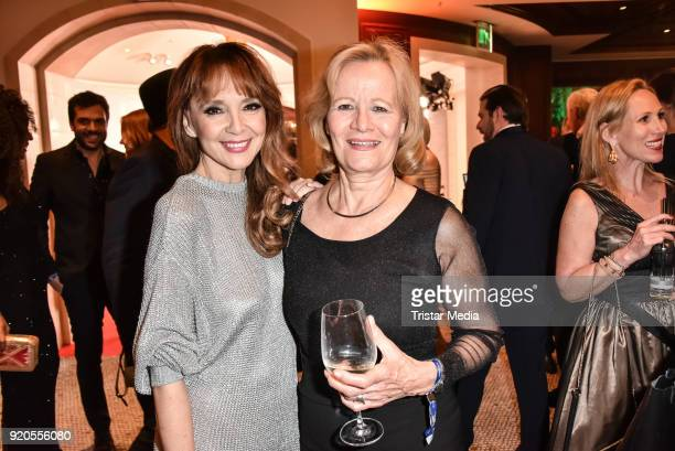 Cornelia Corba and Claudia Rieschel attend Movie Meets Media 2018 on February 18, 2018 in Berlin, Germany.