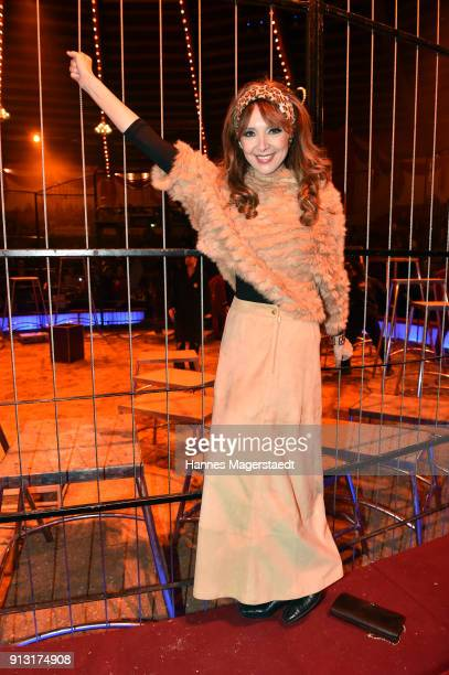 Cornelia Corba during Circus Krone celebrates premiere of 'Hommage' at Circus Krone on February 1 2018 in Munich Germany