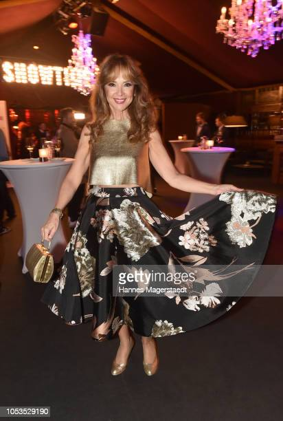 Cornelia Corba during the VIP premiere of Schuhbecks Teatro at Spiegelzelt on October 25 2018 in Munich Germany