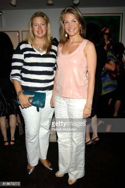 Cornelia Ercklentz and Eliza Osborne attend ARTWALK NEW YORK KICKOFF PARTY hosted by COALITION FOR HOMELESS at Michael's Restaurant on June 30, 2010...