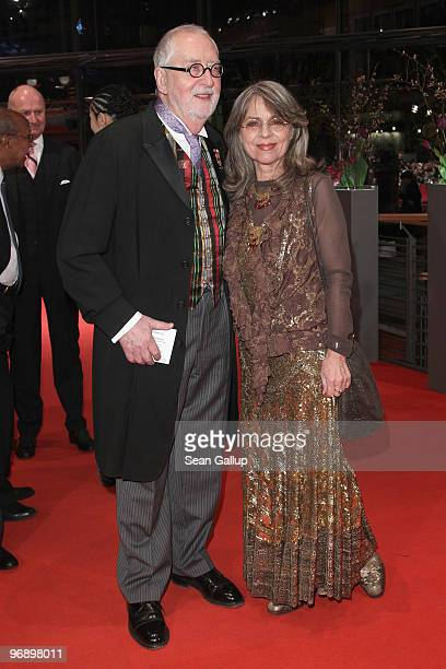 Cornelia Froboess and Hellmuth Matiasek attend the 'Otouto' Premiere during day ten of the 60th Berlin International Film Festival at the Berlinale...