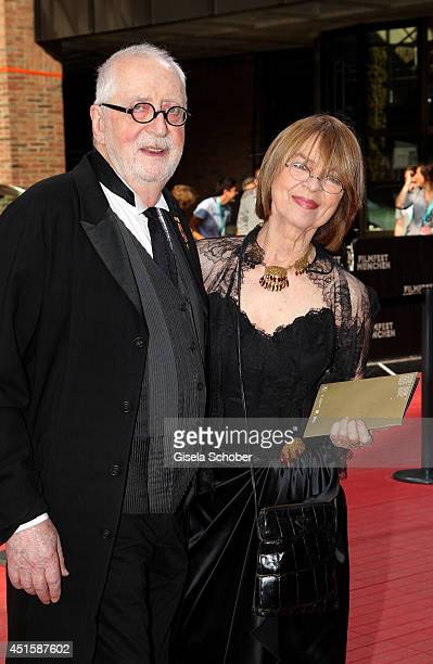 Cornelia Froboess and her husband Hellmuth Matiasek attend the 'Gala Abend mit Arthur Cohn' - as part of Filmfest Muenchen 2014 at Gasteig on July 1,...