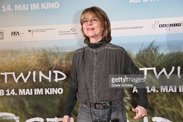Cornelia Froboess during the German premiere of the film 'Ostwind 2' on May 3 2015 in Munich Germany