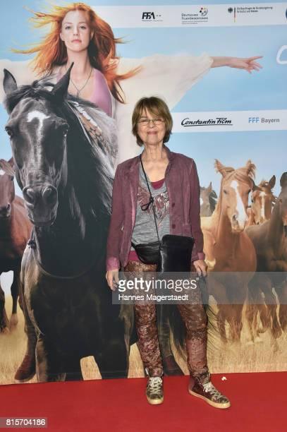 Cornelia Froboess during the 'Ostwind Aufbruch nach Ora' premiere in Munich at Mathaeser Filmpalast on July 16 2017 in Munich Germany