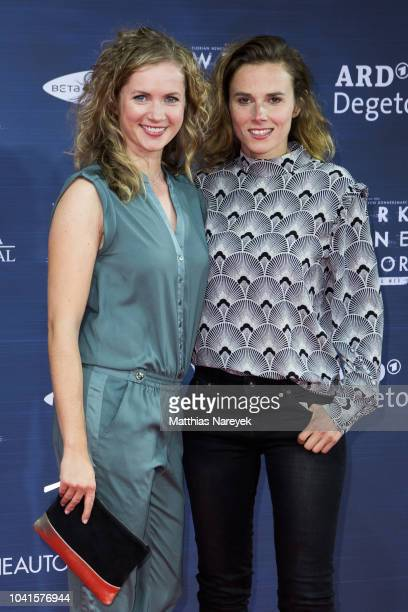 Cornelia Groeschel and Karin Hanczewski attend the premiere of the film 'Werk ohne Autor' at Zoo Palast on September 26 2018 in Berlin Germany