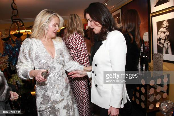 Cornelia Guest and Ann Caruso attend a Holiday Fete hosted by Cornelia Guest And John Demsey at a Private Residence on November 6 2018 in New York...
