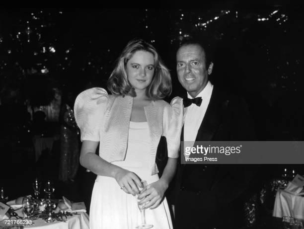 Cornelia Guest and Francesco Scavullo circa 1981 in New York City